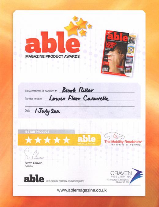 ABLE AWARD 2011
