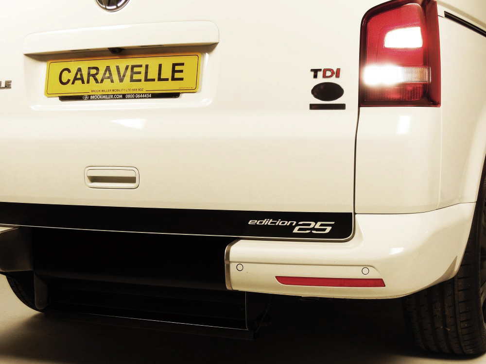 Volkswagen Caravelle Edition 25 Lowered Floor Wheelchair