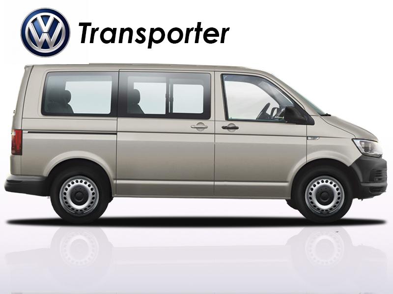 All New Volkswagen T6 Transporter Shuttle & Caravelle