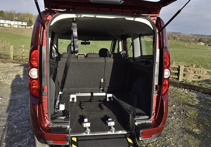 Vauxhall Combo Colarado Tour Wheelchair Accessible Vehicle