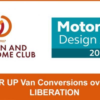 Motorhome Design Awards Runner Up