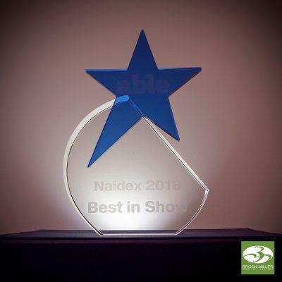 Naidex Best In Show Award