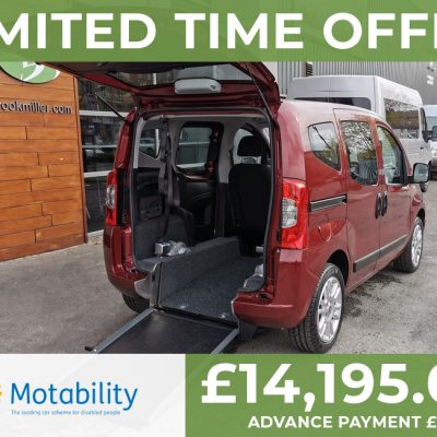 Fiat Qubo Wheelchair Accessible Vehicle