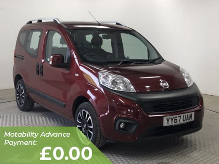 Fiat Qubo Lounge 1.4 77HP LF Lowered Floor Wheelchair Accessible
