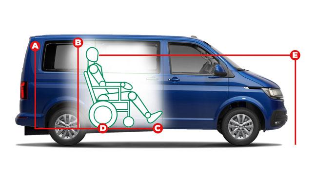 Volkswagen Caravelle Centro Access Dimensions