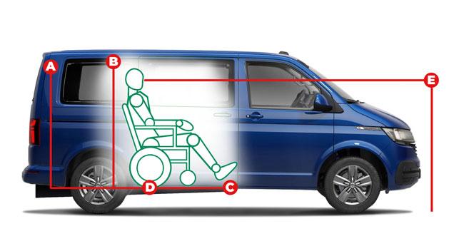 Volkswagen Shuttle Centro Access Dimensions