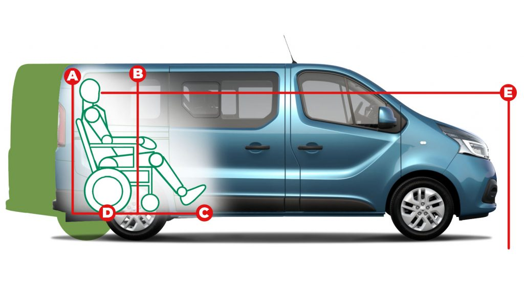 Renault Trafic Lowered Floor Access Dimensions