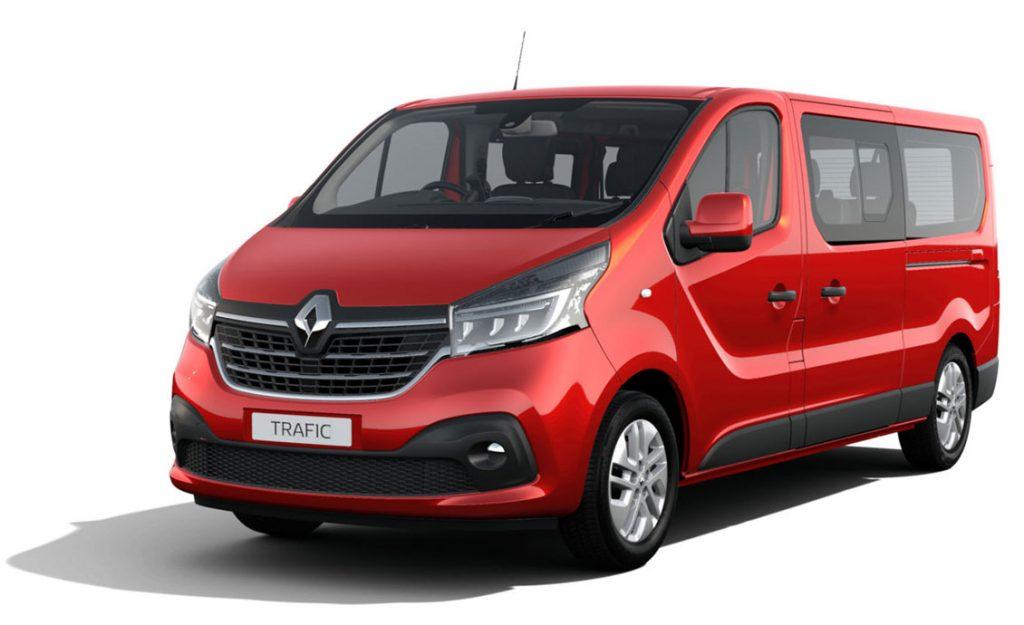 Renault Trafic LWB Magma Red