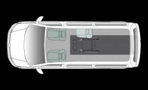 Volkswagen Shuttle Centro SWB Seating Plan