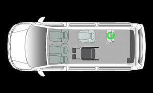 Volkswagen Shuttle RTL SWB Seating Plan