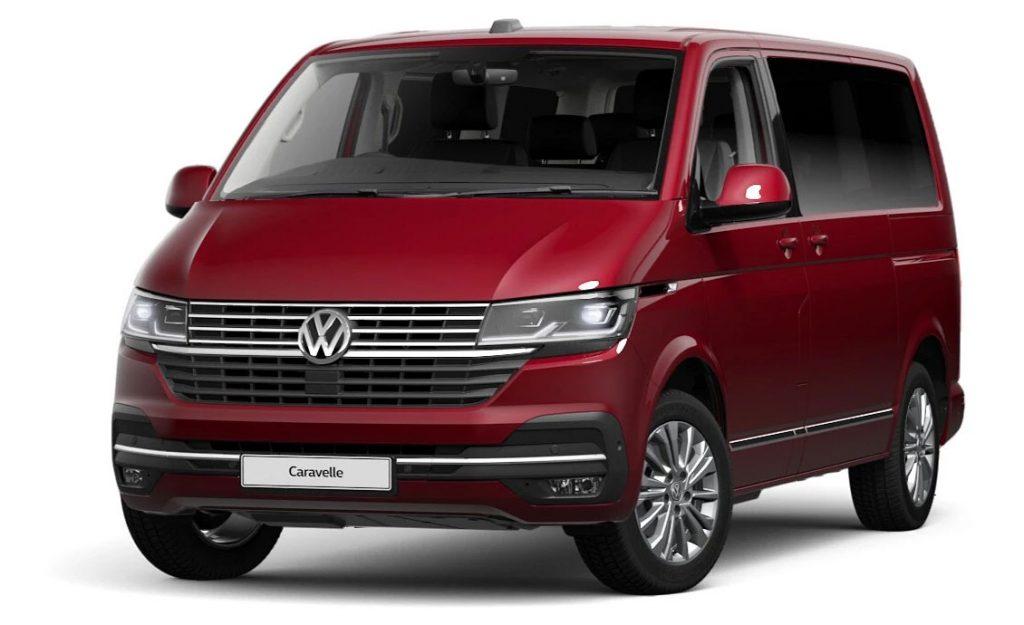 Volkswagen Caravelle Fortana Red
