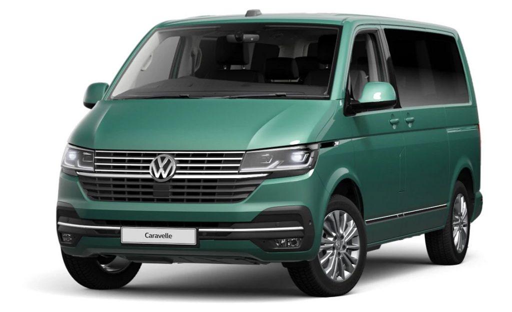 Volkswagen Caravelle Bay Leaf Green